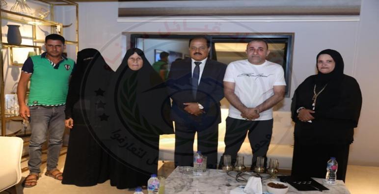 اتحاد قبائل سيناء يكرم أسرة الشهيد علاء حرب ابوزغلان من الشيخ زويد