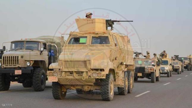الداخلية المصرية تعلن مقتل 13 إرهابيًا في شمال سيناء