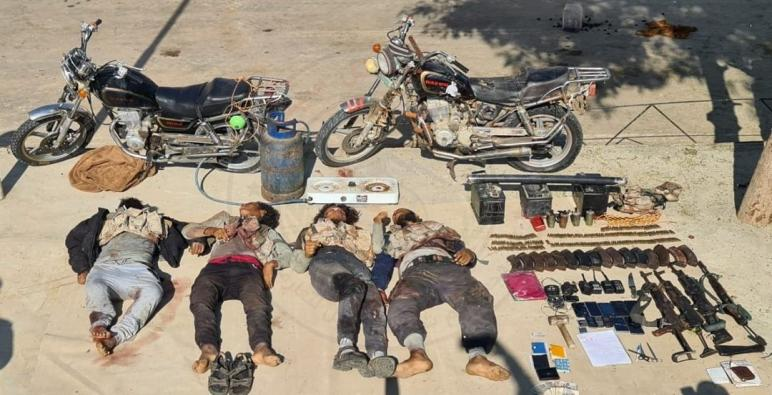 حصرياً صور لقتلى التكفيريين على يد فرق الصاعقة التابعة للقوات المسلحة